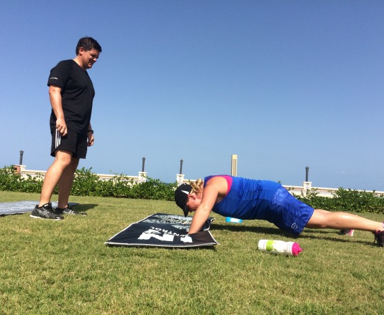 Press-ups | Flexi Programmes at The Healthy Retreat Company