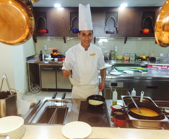 Cooking Chef at The Healthy Retreat Company