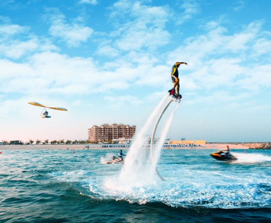 Hoverboarding | Water Sports at The Healthy Retreat Company